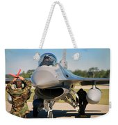 F-16 Fighting Falcon  Weekender Tote Bag