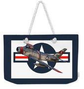 F-86 Sabre Weekender Tote Bag