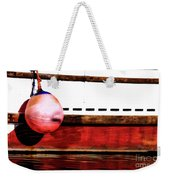 F Dock Buoy Weekender Tote Bag