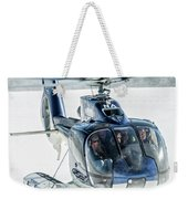 F-hana Eurocopter Ec-130 Helicopter Landing Weekender Tote Bag