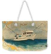 F/v Royal Dawn Tuna Fishing Boat Weekender Tote Bag