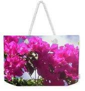 F15 Bougainvilleas Flowers Weekender Tote Bag