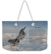 F16 - High Flight Weekender Tote Bag