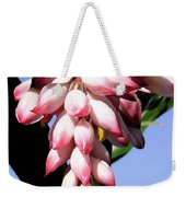 F16 Shell Ginger Flowers Weekender Tote Bag