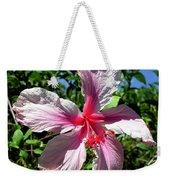 F17 Pink Hibiscus Weekender Tote Bag