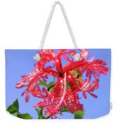 F18 Hawaiian Hibiscus Weekender Tote Bag