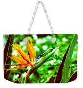 F21 Bird Of Paradise Flower Weekender Tote Bag