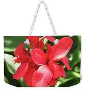 F22 Cannas Flower Weekender Tote Bag
