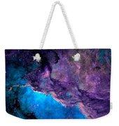 Purple Nebula Weekender Tote Bag