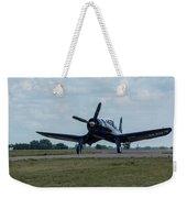 F4u-4 Corsair Airplane 30 Weekender Tote Bag