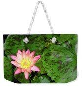 F6 Water Lily Weekender Tote Bag