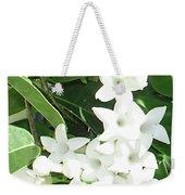 F7 Stephanotis  Flowers Weekender Tote Bag