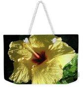 F9 Yellow Hibiscus Weekender Tote Bag