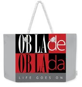 Fab Four Fave Weekender Tote Bag
