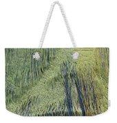 Fabric Texture Weekender Tote Bag