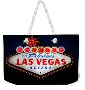 Fabulous Las Vegas Sign Weekender Tote Bag