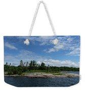 Fabulous Northern Summer - Georgian Bay Island Landscape Weekender Tote Bag