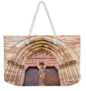 Facade Church Of Obernai,alsace France 073540 Weekender Tote Bag