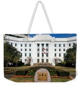 Facade Of An Office Building, Lurleen Weekender Tote Bag