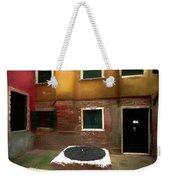 Facade Of Venice V1  Weekender Tote Bag
