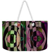 Face 2 Face Weekender Tote Bag