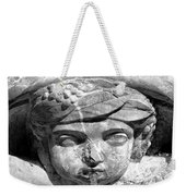 Face In The Fountain Weekender Tote Bag