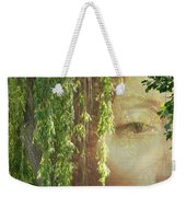 Face In The Willows Weekender Tote Bag