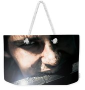 Face Of Fear And Danger Weekender Tote Bag