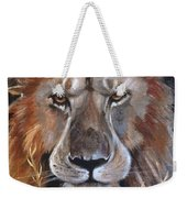 Face Of Majesty Weekender Tote Bag