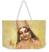Face Of The Goddess - Lalitha Devi - Without Frame Weekender Tote Bag