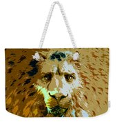Face Of The Lion Weekender Tote Bag