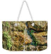 Face Of The Mountain Stream Weekender Tote Bag