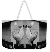 Face Off Weekender Tote Bag