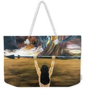Face The Dragon Weekender Tote Bag
