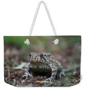 Face To Face With A Fowler Toad  Weekender Tote Bag