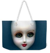 Face Up Weekender Tote Bag