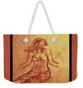 Faceless Mermaid Weekender Tote Bag