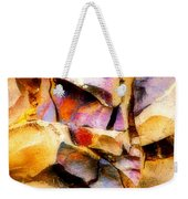 Faces In Stone Weekender Tote Bag
