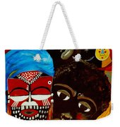 Faces Of Africa Weekender Tote Bag