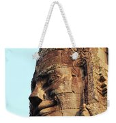 Faces Of The Bayon Temple - Siem Reap, Cambodia Weekender Tote Bag