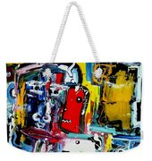 Faces Weekender Tote Bag