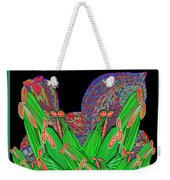 Facination For Cactus Plants And  Flower Weekender Tote Bag