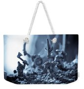 Facing The Enemy Weekender Tote Bag