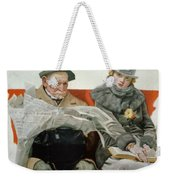 Fact And Fiction Weekender Tote Bag