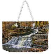 Factory Falls - Childs State Park Weekender Tote Bag