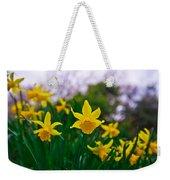 Daffodils Sky Weekender Tote Bag