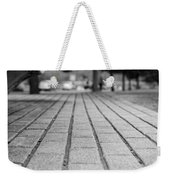 Fade Out Lines Weekender Tote Bag