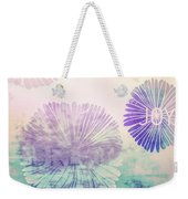 Faded Blooms Weekender Tote Bag by JAMART Photography