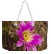 Faded Cactus Beauty Weekender Tote Bag