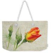 Faded Floral 9 Weekender Tote Bag